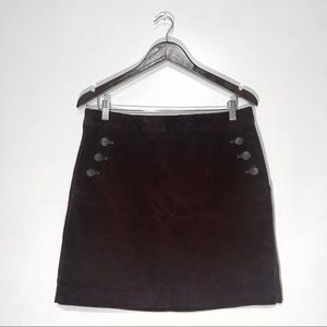 Banana Republic Corduroy Mini Skirt Size 8
